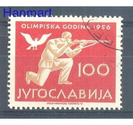 Znaczek Jugosławia 1956 Mi 811 Stemplowane
