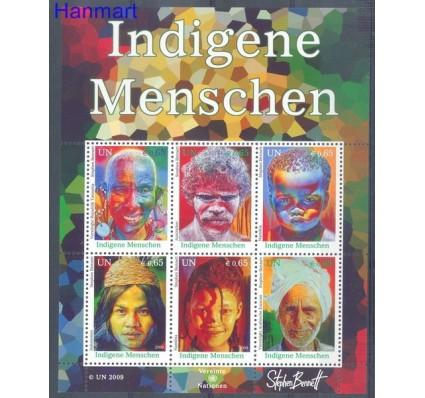Narody Zjednoczone Wiedeń 2009 Mi bl 25 Czyste **