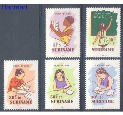 Znaczek Surinam 1985 Mi 1157-1161 Czyste **