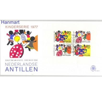 Znaczek Antyle Holenderskie 1977 Mi bl 6 FDC