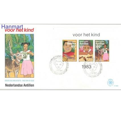 Znaczek Antyle Holenderskie 1983 Mi bl 26 FDC