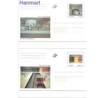 Znaczek Belgia 1998 Mi 66-67 Całostka pocztowa