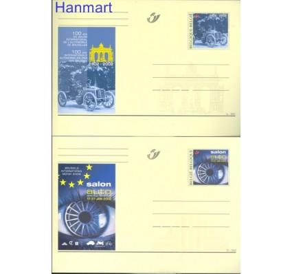 Znaczek Belgia 2002 Mi 96-97 Całostka pocztowa