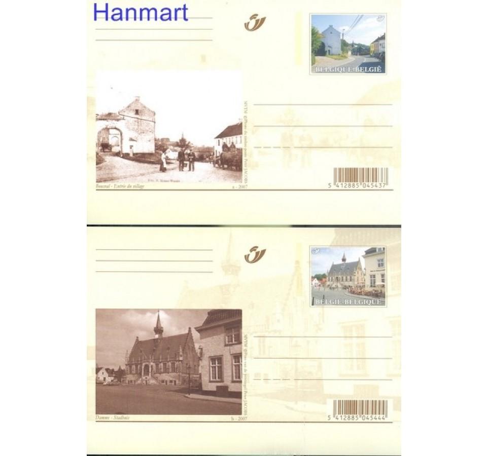 Belgia 2007 Mi 160-169 Całostka pocztowa