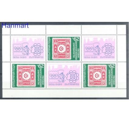 Znaczek Bułgaria 1988 Mi ark 3697 Czyste **