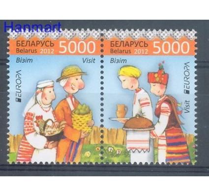 Znaczek Białoruś 2012 Mi 912-913 Czyste **