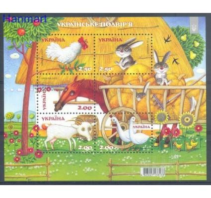 Znaczek Ukraina 2012 Mi bl 98 Czyste **