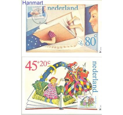 Holandia 1980 Mi 1171-1174 Karta Max
