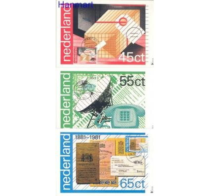 Znaczek Holandia 1981 Mi 1180-1182 Karta Max