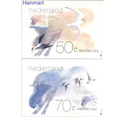 Holandia 1982 Mi 1209-1210 Karta Max