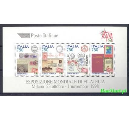 Znaczek Włochy 1997 Mi bl 16 Czyste **