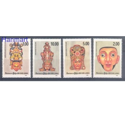 Znaczek Sri Lanka 1992 Mi 996-999 Czyste **