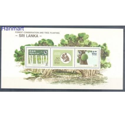 Znaczek Sri Lanka 1981 Mi bl 17 Czyste **
