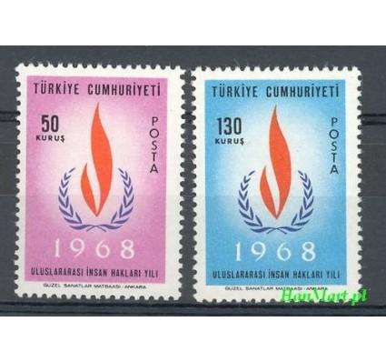 Znaczek Turcja 1968 Mi 2080-2081 Czyste **