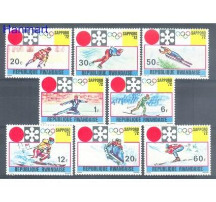 Znaczek Rwanda 1972 Mi 479-486 Czyste **