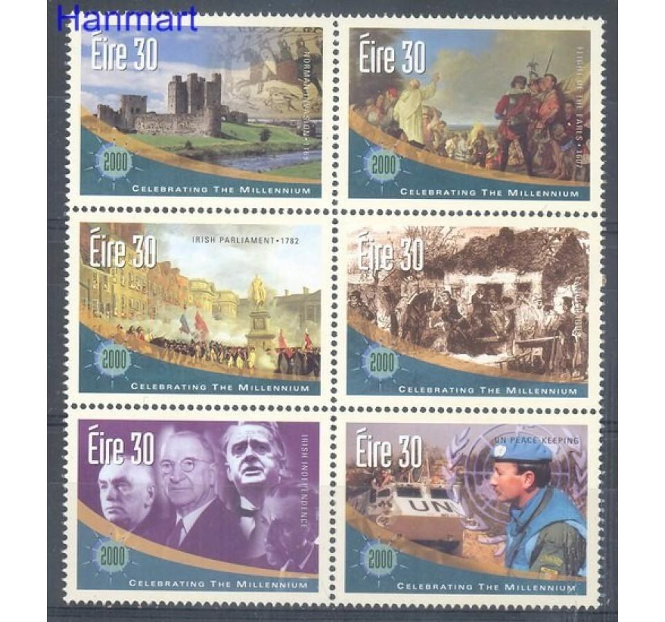 Irlandia 2000 Mi 1206-1211 Czyste **
