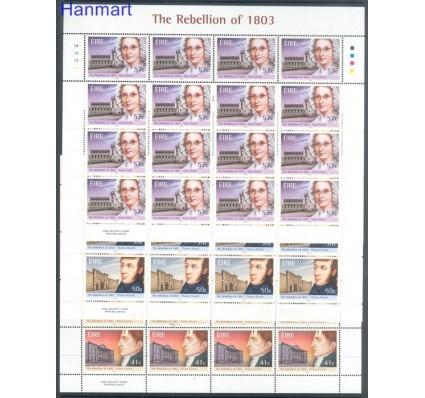 Znaczek Irlandia 2003 Mi ark 1520-1522 Czyste **