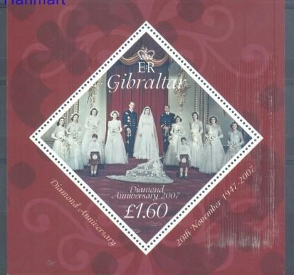 Znaczek Gibraltar 2007 Mi bl 76 Czyste **
