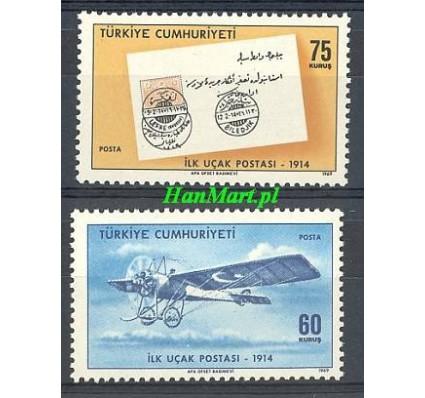 Znaczek Turcja 1969 Mi 2152-2153 Czyste **