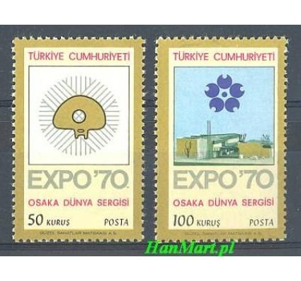 Znaczek Turcja 1970 Mi 2166-2167 Czyste **