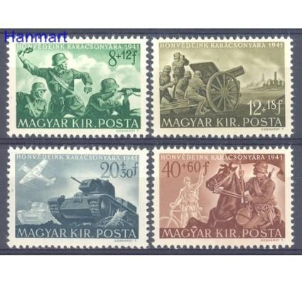 Znaczek Węgry 1941 Mi 682-685 Czyste **