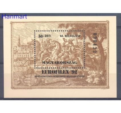Znaczek Węgry 1992 Mi bl 221 Czyste **