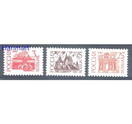 Rosja 1992 Mi 266-268IAv Czyste **