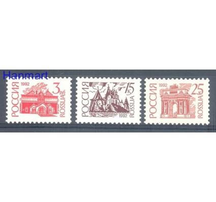 Znaczek Rosja 1992 Mi 266-268IAw Czyste **