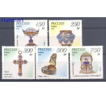 Rosja 1995 Mi 455-459 Czyste **