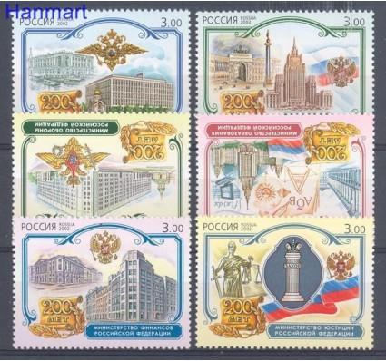 Rosja 2002 Mi 1010-1015 Czyste **