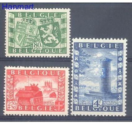 Znaczek Belgia 1950 Mi 863-865 Czyste **