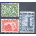 Belgia 1950 Mi 863-865 Czyste **