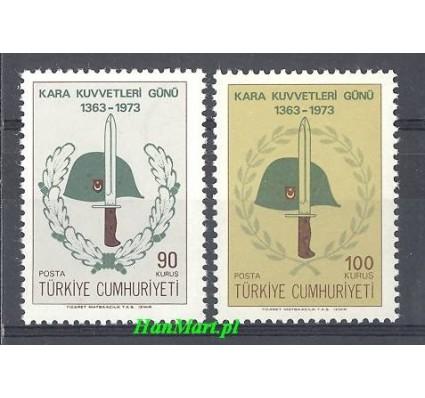 Znaczek Turcja 1973 Mi 2284-2285 Czyste **
