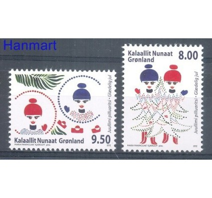Grenlandia 2012 Mi 625-626 Czyste **