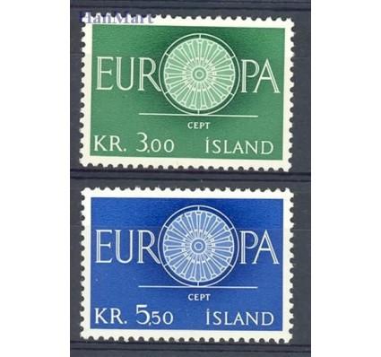 Znaczek Islandia 1960 Mi 343-344 Czyste **