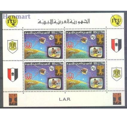 Znaczek Libia 1977 Mi bl 31 Czyste **