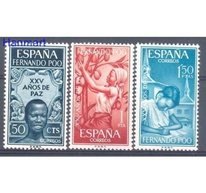 Znaczek Fernando Poo / Bioko 1965 Mi 235-237 Czyste **