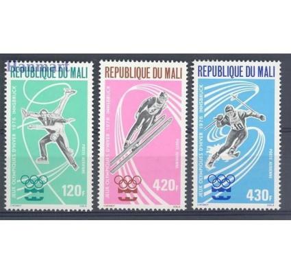 Znaczek Mali 1976 Mi 519-521 Czyste **