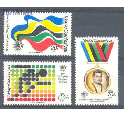 Znaczek Turcja 1984 Mi 2679-2681 Czyste **