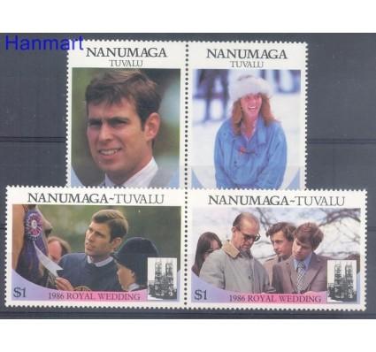 Tuvalu 1986 Mi par88-91 Czyste **