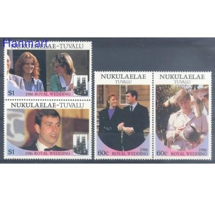 Znaczek Tuvalu 1986 Mi par96-99 Czyste **