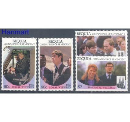 Znaczek Bequia 1986 Mi 191-194 Czyste **