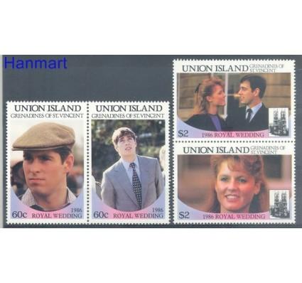 Znaczek Union Islands 1986 Mi 171-174 Czyste **