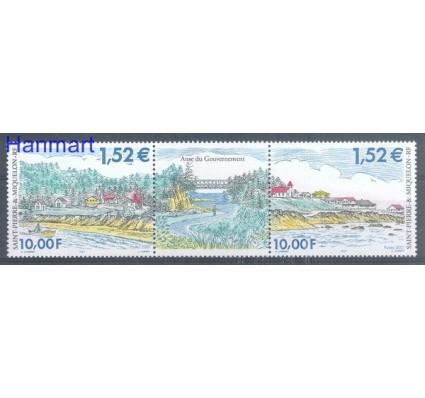 Saint-Pierre i Miquelon 2001 Mi 836-837 Czyste **