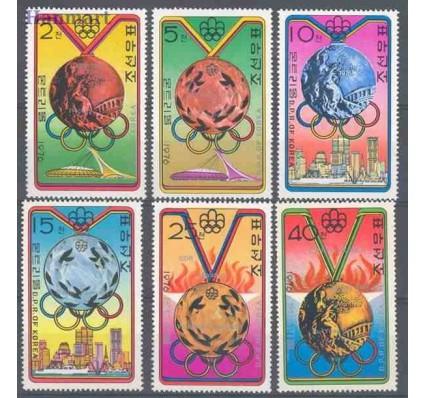 Znaczek Korea Północna 1976 Mi 1516-1521 Czyste **