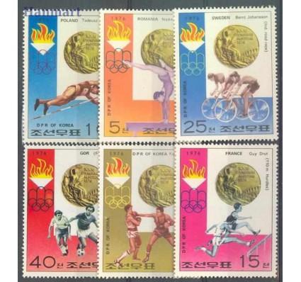 Znaczek Korea Północna 1976 Mi 1537-1542 Czyste **
