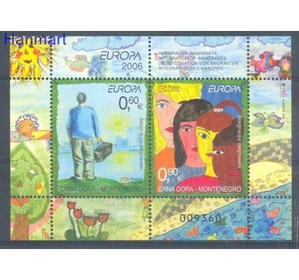 Znaczek Czarnogóra 2006 Mi bl 5 Czyste **