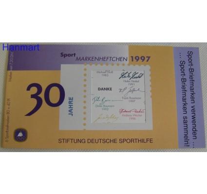 Znaczek Niemcy 1997 Mi mh 1898 Czyste **