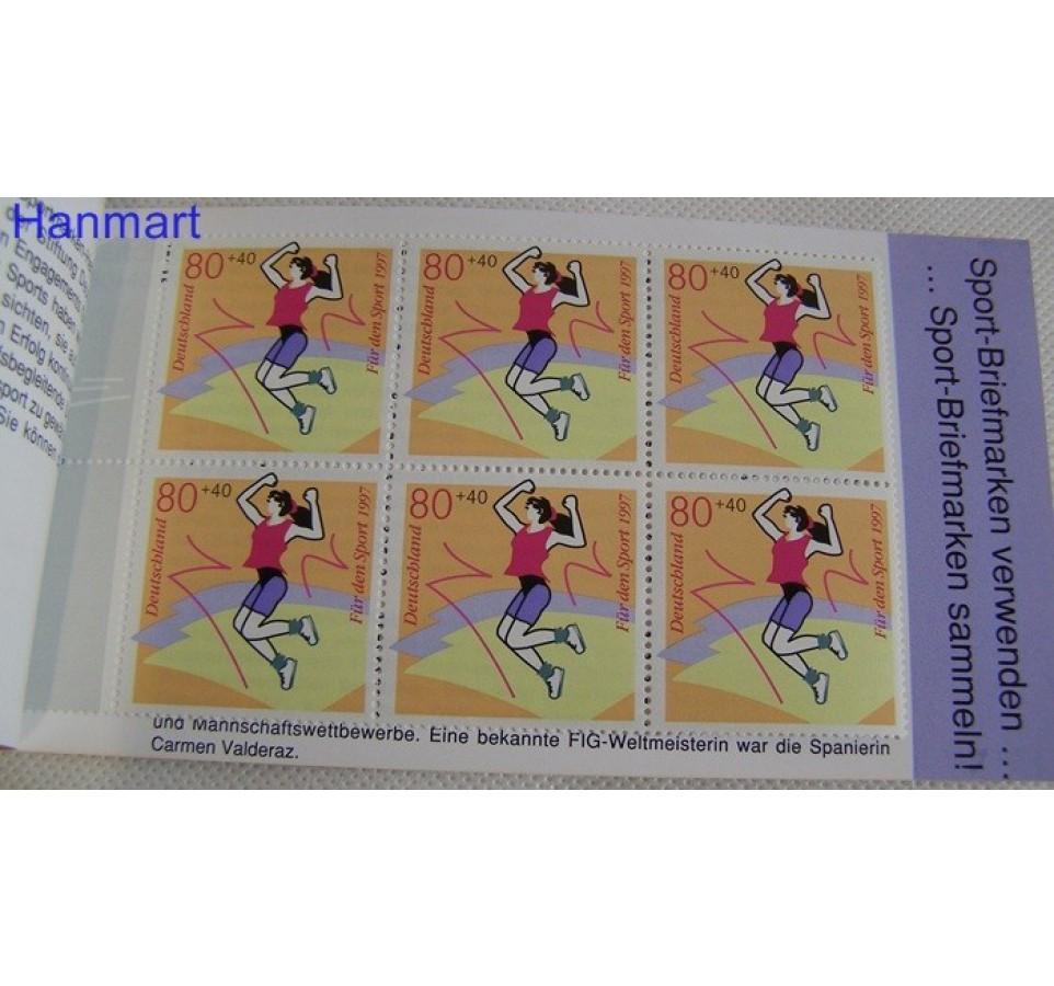 Niemcy 1997 Mi mh 1898 Czyste **