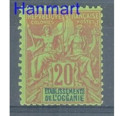 Znaczek Oceania Francuska 1892 Mi 7 Z podlepką *